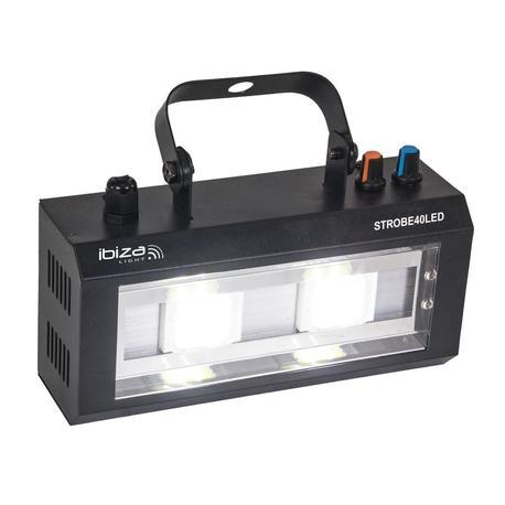IBIZA LIGHT STROBE40LED FLASH LED 2x20W