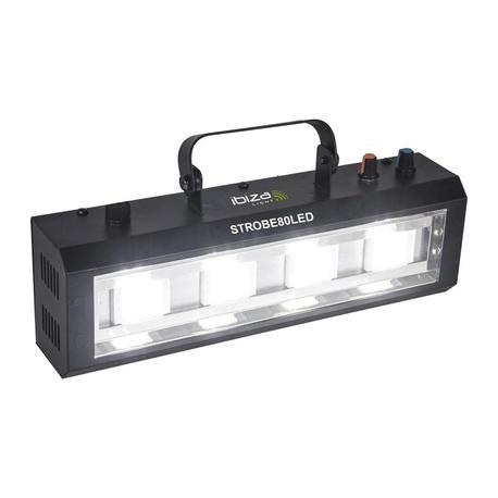 IBIZA LIGHT STROBE80LED FLASH LED 4x20W