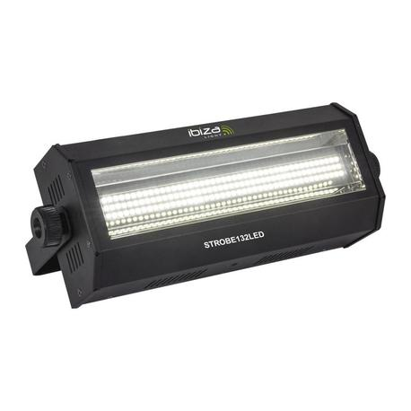 IBIZA LIGHT STROBE132LED FLASH LED DMX 60W