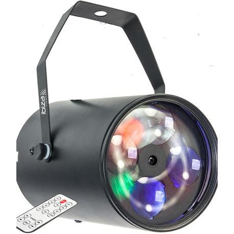 IBIZA LIGHT GOBO-RGBW12W EFECTO LED 4x3W RGBW