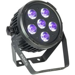 IBIZA LIGHT PARLED606UV FOCO LED LUZ NEGRA DMX 6x6W UV
