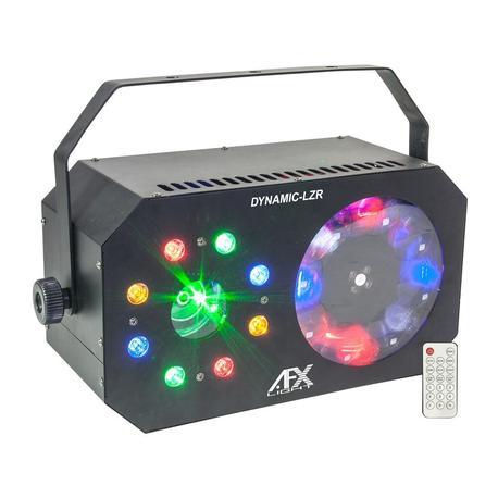 AFX DYNAMIC-LZR EFECTO LED + LASER + FLASH