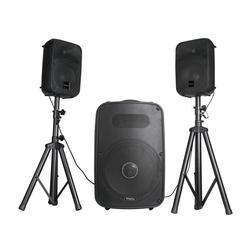 IBIZA SOUND CUBE158 EQUIPO DE SONIDO AUTOAMPLIFICADO 600W USB/SD/BT