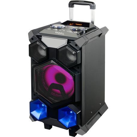 IBIZA SOUND SPLBOX350-PORT ALTAVOZ PORTATIL USB/SD/BT/FM/RECORD/MICROS 350W