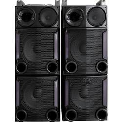 "PARTY PARTY-BOX212 EQUIPO DE SONIDO AUTOAMPLIFICADO USB/SD/BT 2x12"" 1200W"