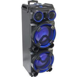 "IBIZA SOUND STANDUP-DJ-MKII ALTAVOZ PORTATIL CON LEDS 2x12"""