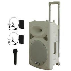 NUEVO IBIZA SOUND PORT12VHF-HEAD-WH 3xMIC-VHF 4xCABLES