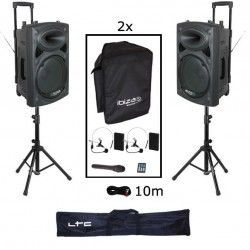 IBIZA SOUND PORT15VHF-HEAD PACK-2
