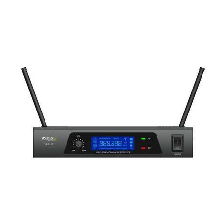 MICROFONO INALAMBRICO DE MANO IBIZA SOUND UHF10A REACONDICIONADO