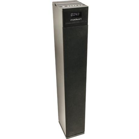 MADISON MAD-CENTER130CD-BK ALTAVOZ HI-FI ACTIVO CD/BLUETOOTH/USB/SD/FM/POWER BANK