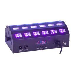 IBIZA LIGHT LED-STUV24 DMX-CONTROLLED PROJECTOR LUZ NEGRA