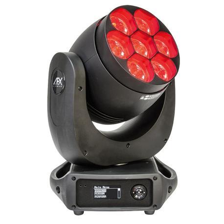AFX LEDWASH740Z-P CABEZA MOVIL LED WASH/BEAM 7x40W RGBW ZOOM/PIXEL