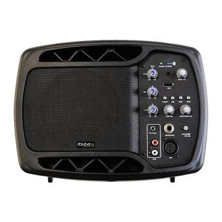 "IBIZA SOUND MS5-150 MONITOR ACTIVO 5"" 150W BLUETOOTH"""