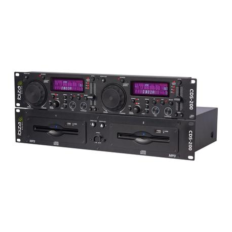 IBIZA SOUND CDS-200 CD DOBLE USB/SCRATCH