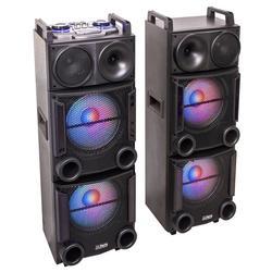 "PARTY PARTY-BOX412 EQUIPO DE SONIDO USB/SD/FM/BT/MANDO 2x12"" 1200W"