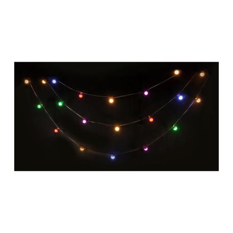 IBIZA LIGHT LEDSTRING-COLOR GUIRNALDA LUMINOSA 20-LED COLOR IP44 10m