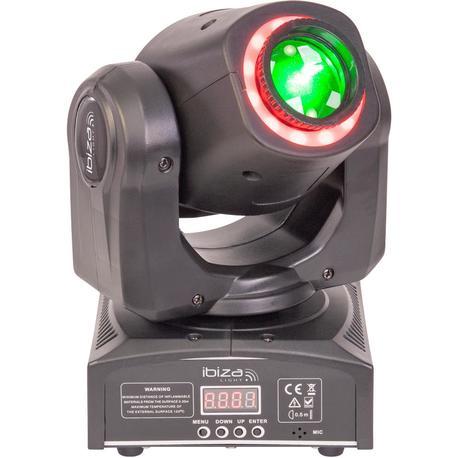 IBIZA LIGHT MHSPOT30-FX CABEZA MOVIL led SPOT/ANIMACION DMX