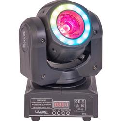 IBIZA LIGHT MHBEAM40-FX CABEZA MOVIL LED WASH/BEAM 40W DMX