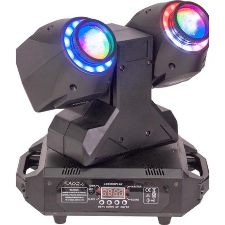 IBIZA LIGHT MHBEAM60-FX CABEZA MOVIL LED WASH/BEAM DMX