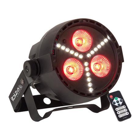 IBIZA LIGHT PAR-MINI-STR FOCO LED RGBW Y FLASH