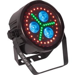 IBIZA LIGHT PARLED318-FX1 FOCO LED DMX CON MANDO