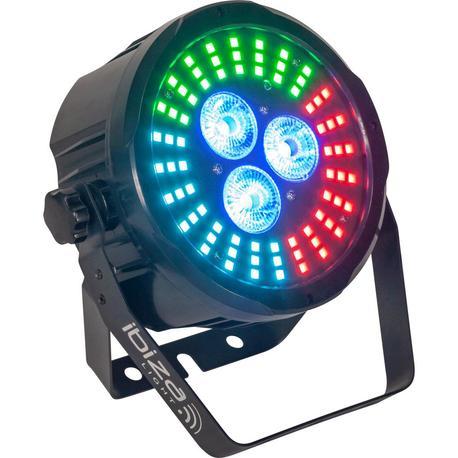 IBIZA LIGHT PARLED318-FX2 FOCO LED CON MANDO