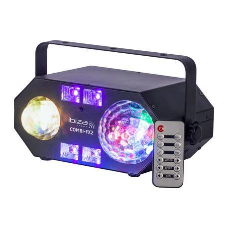 IBIZA LIGHT COMBI-FX2 EFECTO LED ASTRO/AGUA/UV/STROBO