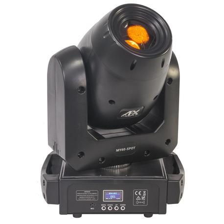AFX MY60-SPOT CABEZA MOVIL LED SPOT 1x60W BLANCO PRISMA