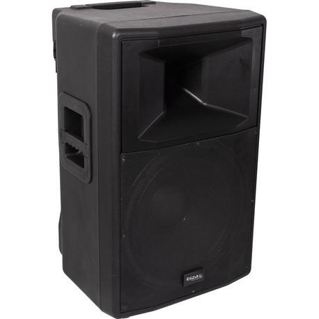"IBIZA SOUND RX18A-BT ALTAVOZ AUTOAMPLIFICADO 18"" 1000W USB/SD/BLUETOOTH/FM/2xMICRO VHF"