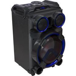 """IBIZA SOUND STANDUP12 ALTAVOZ PORTATIL A BATERIAS 12"""" 400W LED/USB/SD/BLUETOOTH/FM"""