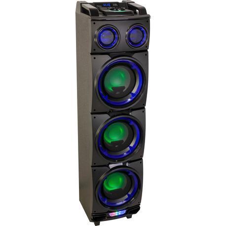 """IBIZA SOUND STANDUP308 ALTAVOZ PORTATIL A BATERIAS 3x8"""" 300W LED/USB/SD/BLUETOOTH/FM"""