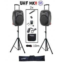 IBIZA SOUND PORT15UHF-MKII PACK-2