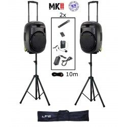 IBIZA SOUND PORT15VHF-MKII PACK-2