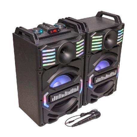 PARTY PARTY-SPEAKY700-MKII SISTEMA DE SONORIZACION DJ CON USB, BLUETOOTH Y MICRO 2 x 25cm 700W