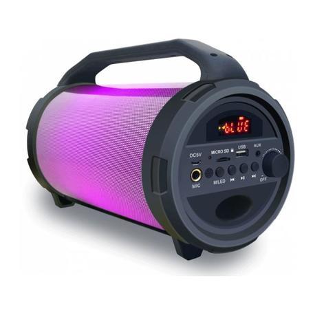 PARTY PARTY-TUBELED ALTAVOZ PORTATIL BLUETOOTH DE LED CON USB, MICRO-SD Y MICRÓFONO