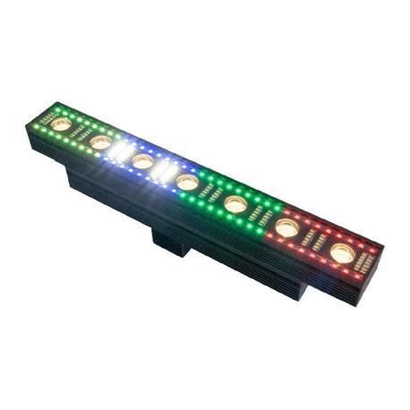 IBIZA LIGHT FXBAR70 BARRA DE ANIMACION 3-EN-1 CON EFECTO BLINDER BLANCO CALIDO EFECTO BEAM Y ESTROBO