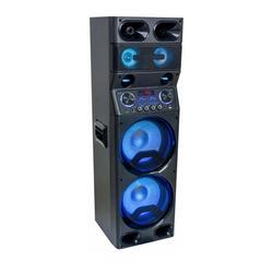 "IBIZA SOUND TS450 ALTAVOZ ACTIVO CON LED RGB Y BLUETOOTH, USB, MICRO-SD, TUNER FM & MANDO A DISTANCIA 2 x 10""/25cm 450W"