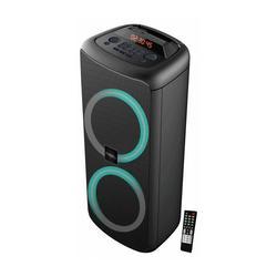 IBIZA SOUND RAINBOW1000 ALTAVOZ ACTIVO 2 x 25cm / 1000W con BLUETOOTH, USB, MICRO-SD Y MANDO A DISTANCIA