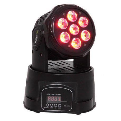 CABEZA MOVIL LED IBIZA LIGHT LMH350LED 4-EN-1