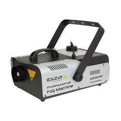 MAQUINA DE HUMO IBIZA LIGHT LSM1200PRO 1200W DMX Y CON MANDO