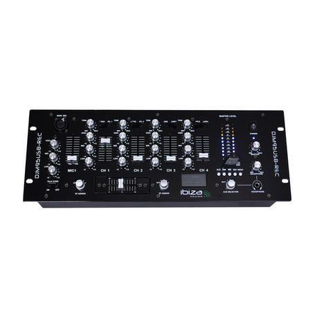 MEZCLADOR DJ IBIZA SOUND DJM95USB-REC USB/SD PLAYER