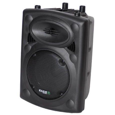 "ALTAVOZ AUTOAMPLIFICADO IBIZA SOUND SLK8A-BT 8"" 300W USB/BLUETOOTH"