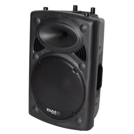 "ALTAVOZ AUTOAMPLIFICADO IBIZA SOUND SLK15A-BT 15"" 800W USB/BLUETOOTH"