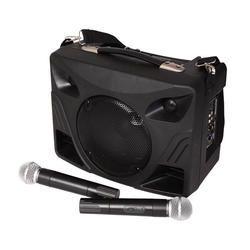 EQUIPO DE SONIDO PORTATIL IBIZA SOUND PORT85VHF USB/MP3/SD/RADIO + 2xMICROS INALAMBRICOS