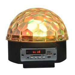 EFECTO LED IBIZA LIGHT LL082LED-BT RGBWAP CON ALTAVOZ Y SD-USB-BLUETOOTH
