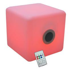 CUBO LED CON ALTAVOZ BLUETOOTH IBIZA LIGHT LED-CUBE2020