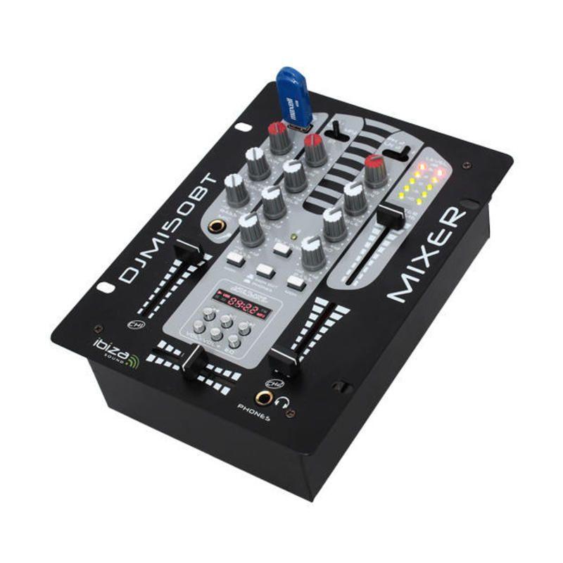 Mesa de mezclas dj ibiza sound djm150usb bt reproductor for Mesa de mezclas dj