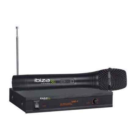 MICROFONO INALAMBRICO IBIZA SOUND VHF1A 1xMANO