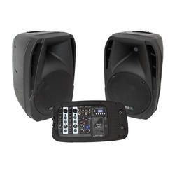 ALTAVOZ AUTOAMPLIFICADO IBIZA SOUND COMBO210 (PAREJA) USB/MP3/WMA/SD 300W