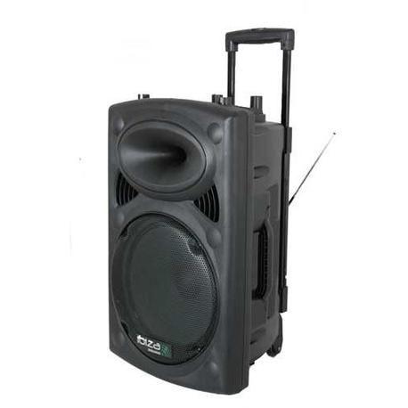 "EQUIPO DE SONIDO PORTATIL IBIZA SOUND PORT12VHF-BT 12"" USB/MP3/BLUETOOTH/FM/REC/VOX 2xMICRS INALAMBRICOS"